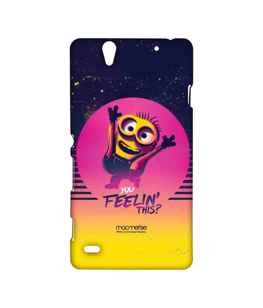 Despicable Me Minion Bob You Feeling This Sublime Case for Sony Xperia C4