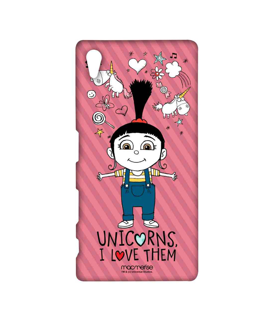 Despicable Me Agnes Unicorn Love Sublime Case for Sony Xperia Z5