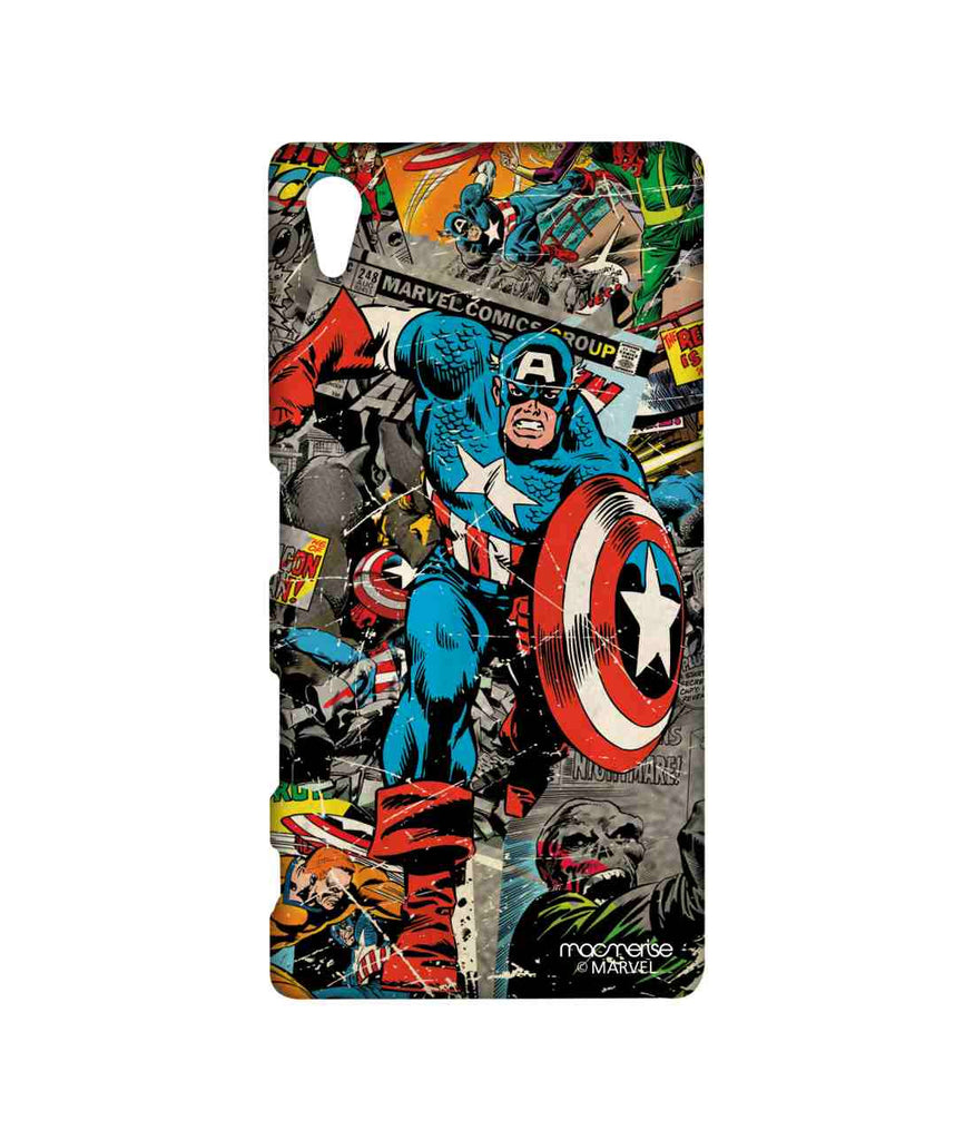 Comics Captain America Sublime Case for Sony Xperia Z5