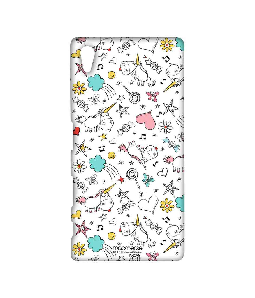 Despicable Me Agnes Dreamy Pattern Sublime Case for Sony Xperia Z5