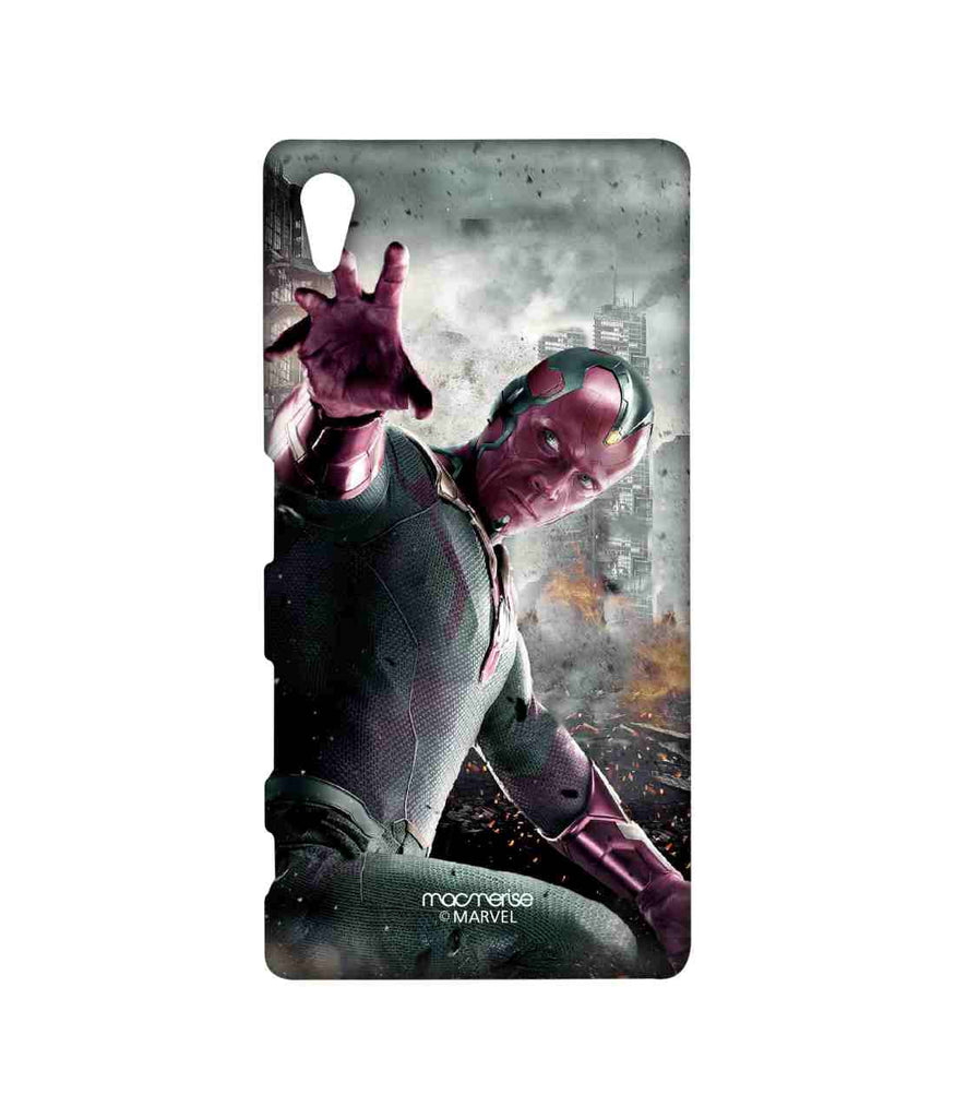 Captain America: Civil War Vision Fear the Vision Sublime Case for Sony Xperia Z5
