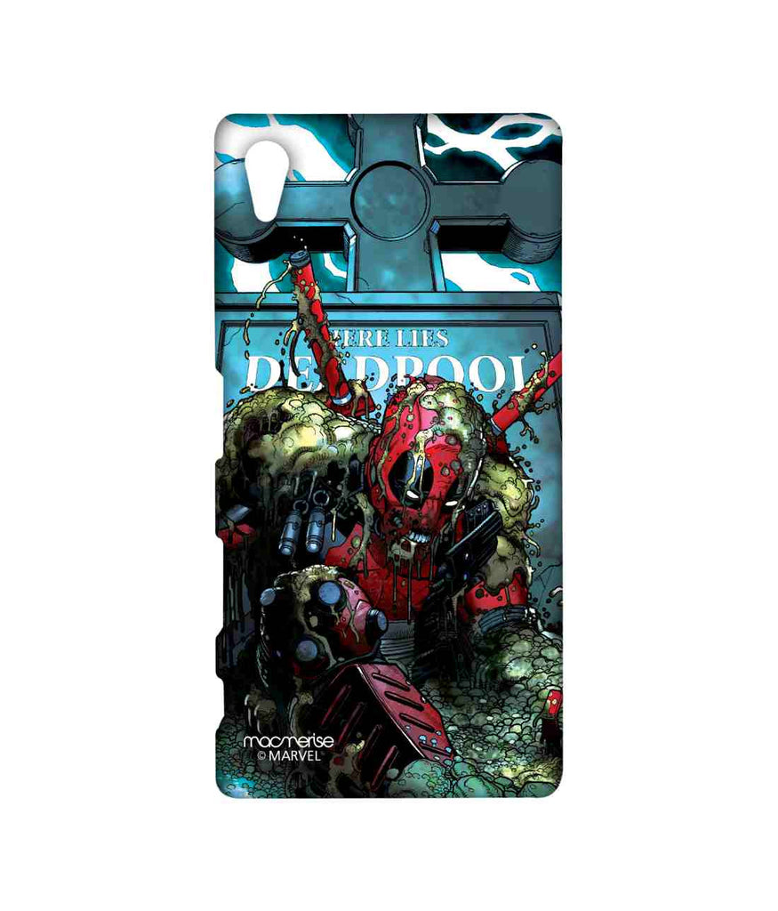 Comics Deadpool Here lies Deadpool Sublime Case for Sony Xperia Z5