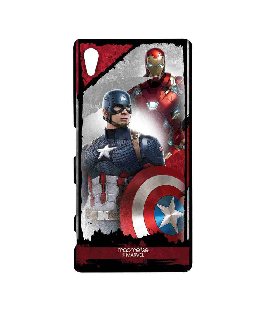 Captain America: Civil War Ironman and Captain America The Civil War Sublime Case for Sony Xperia Z5