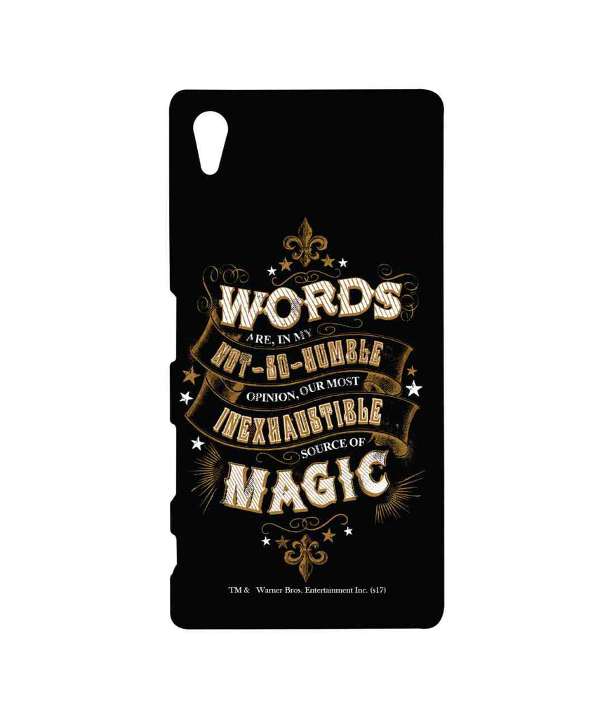 Harry Potter Words and Magic Sublime Case for Sony Xperia Z5