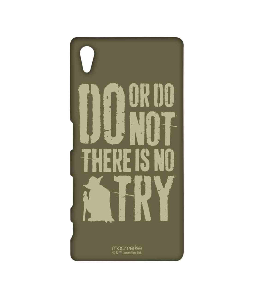 Star Wars Yoda Theory Sublime Case for Sony Xperia Z5