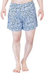 Simpsons Angry Brat Blue Boxer for Men