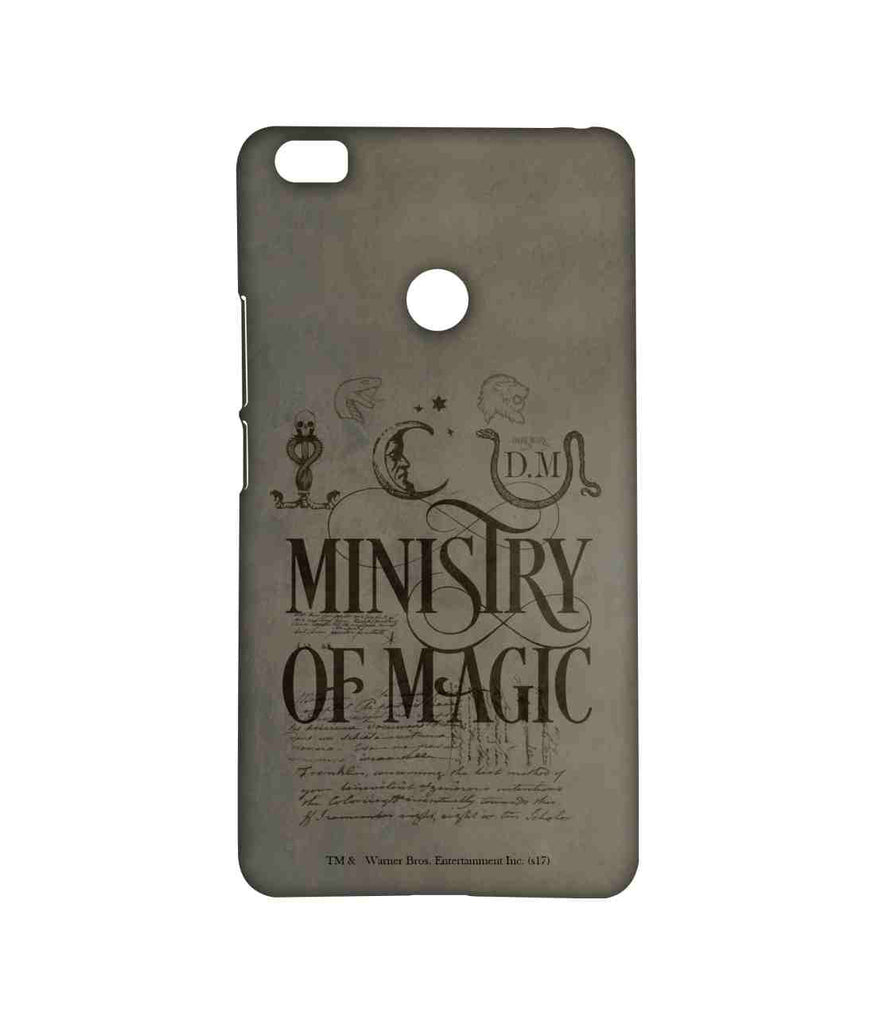 Harry Potter Ministry Of Magic Sublime Case for Xiaomi Mi Max