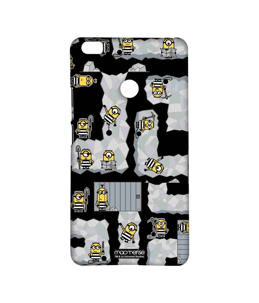 Despicable Me Minions Prison Break Black Sublime Case for Xiaomi Mi Max