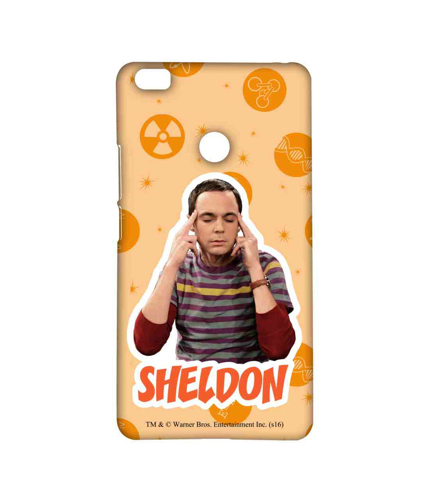 Big Bang Theory Sheldon Explosion Sublime Case for Xiaomi Mi Max