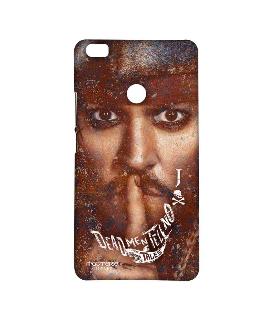Pirates of the Caribbean Jack Sparrow Silence of Jack Sublime Case for Xiaomi Mi Max