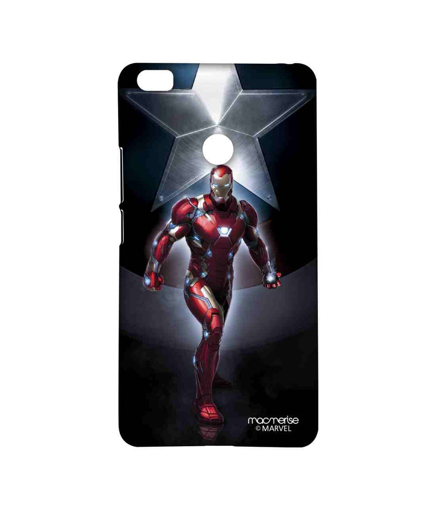 Captain America: Civil War Ironman and Captain America Watchful Ironman Sublime Case for Xiaomi Mi Max