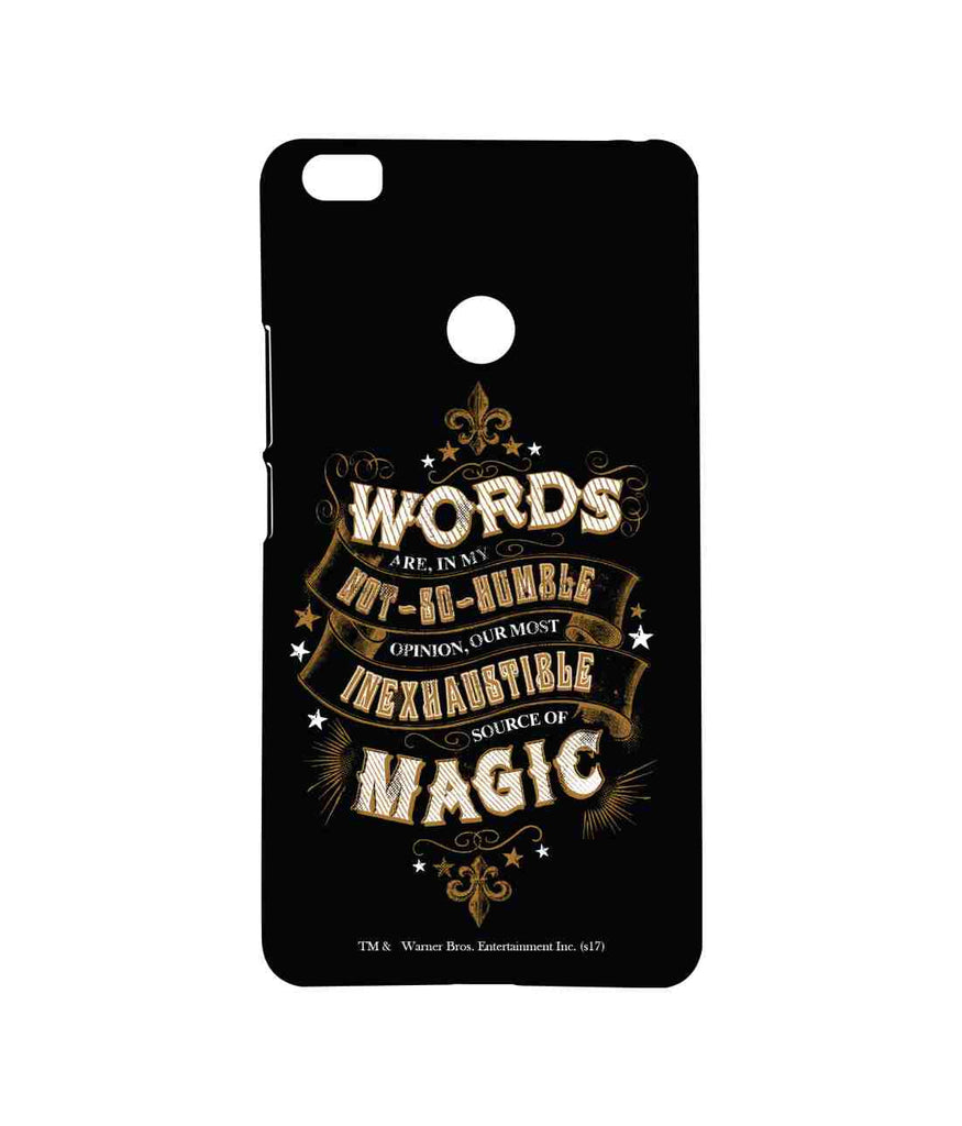 Harry Potter Words and Magic Sublime Case for Xiaomi Mi Max