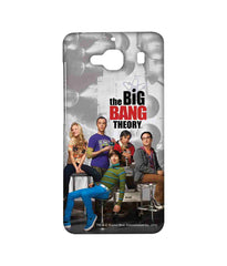 Big Bang Theory Leonard Sheldon Raj Howard and Penny BBT Gang Sublime Case for Xiaomi Redmi 2 Prime