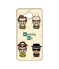 Breaking Bad Walter White Breaking Bad Caricatures Sublime Case for Xiaomi Redmi 2 Prime