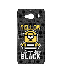 Despicable Me Minion Stuart Yellow Black Sublime Case for Xiaomi Redmi 2 Prime