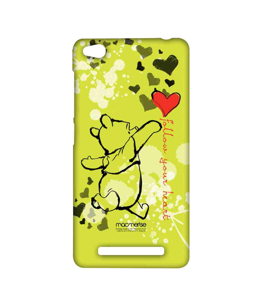Disney Winnie the pooh Follow your Heart Sublime Case for Xiaomi Redmi 3S