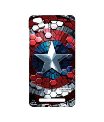 Civil War Captain America Hex Shield Sublime Case for Xiaomi Redmi 3S