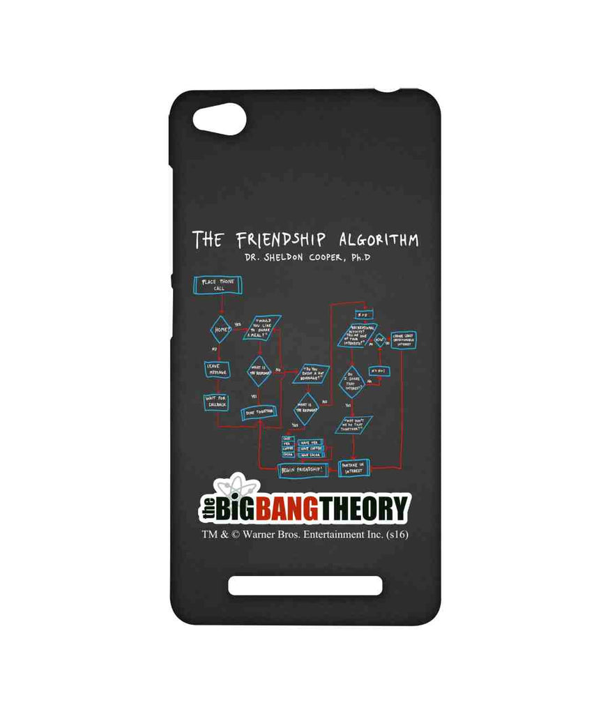 Big Bang Theory The Friendship Algorithm Sublime Case for Xiaomi Redmi 3S