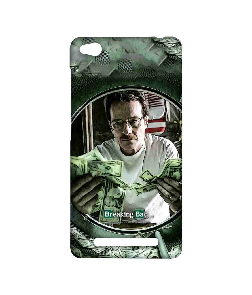 Breaking Bad Walter White Washing Dollars Sublime Case for Xiaomi Redmi 3S
