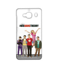 Big Bang Theory Leonard Sheldon Raj Howard and Penny BBT IQ Sublime Case for Xiaomi Redmi 2