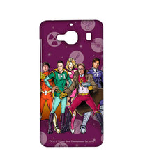 Big Bang Theory Leonard Sheldon Raj Howard and Penny BBT Superheroes Sublime Case for Xiaomi Redmi 2