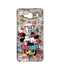 Disney Minnie Mouse and Mickey Mouse Crazy in love Sublime Case for Xiaomi Redmi 2