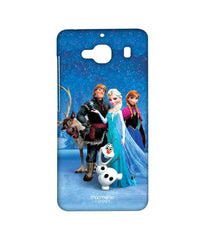 Disney Frozen Elsa Anna Olaf and Frozen Together Sublime Case for Xiaomi Redmi 2