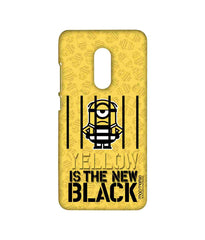 Despicable Me Minion Mel Behind Black Bars Sublime Case for Xiaomi Redmi Note 4