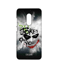 Batman The Dark Knight Joker The Jokes on you Sublime Case for Xiaomi Redmi Note 4