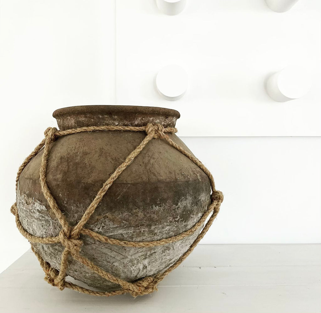 Vintage Water Carrier Pot from Indonesia