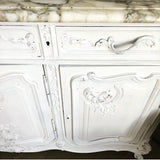 Exquisite Marble Topped French Sideboard