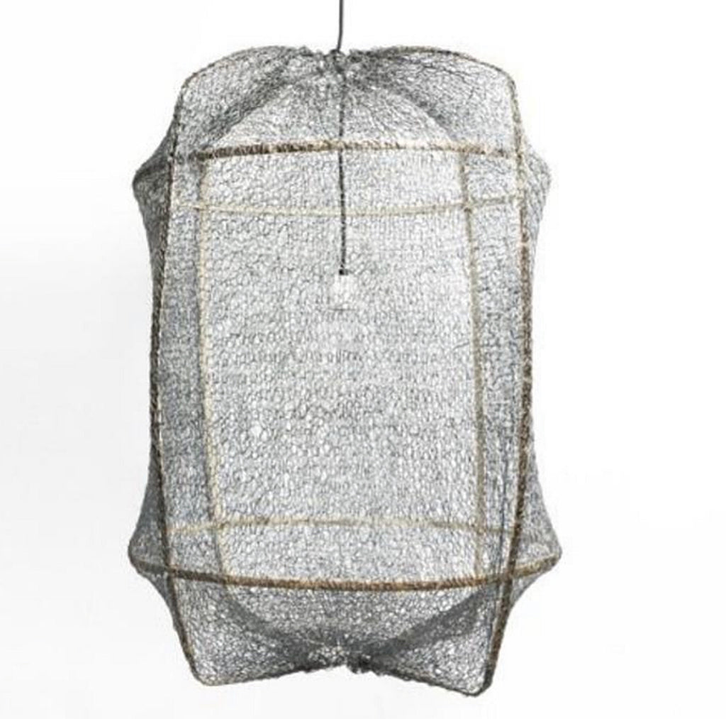 Z1 Pendant Light with Sisal Cover by AY ILLUMINATE