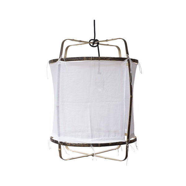 Z5 White Cotton Cover Pendant Light By AY ILLUMINATE