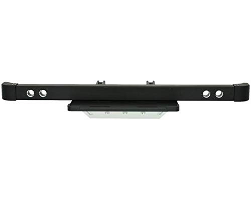 HRP New Aluminum Front Bumper With Skid Plate & Winch Mount, For Trx-4