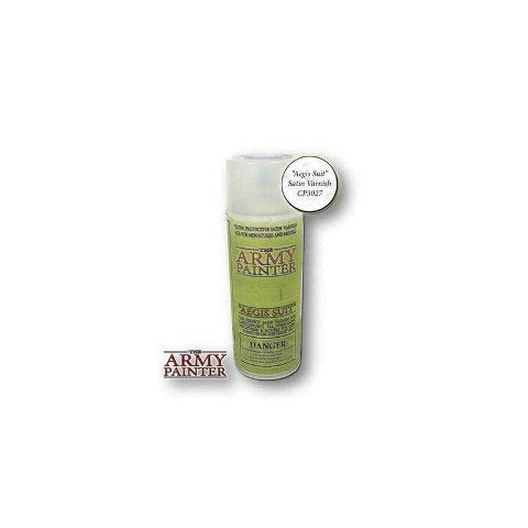 The Army Painter Clear Primer Aegis Satin Varnish 400ml for Miniature Painting