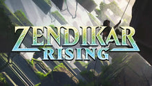 Load image into Gallery viewer, Magic The Gathering Zendikar Rising Set Booster Box (30 Packs)