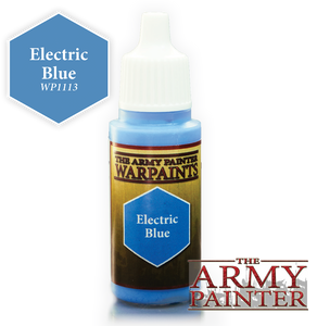 "The Army Painter Warpaints 18ml Electric Blue ""Blue Variant"" WP1113"
