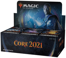 Load image into Gallery viewer, Magic: The Gathering Core 2021 Booster Box 36 Booster Packs (540 Cards)