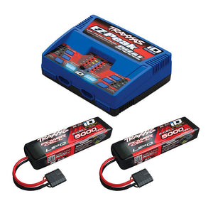 Traxxas 2990 Dual Charger w 2x LIPO Completer Pack