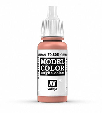 Vallejo Model Color German Orange Paint, 17ml