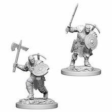 Load image into Gallery viewer, Dungeons & Dragons Mini- Earth Genasi Male Fighter WZK73203
