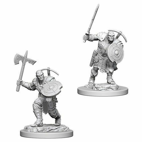 Dungeons & Dragons Mini- Earth Genasi Male Fighter WZK73203