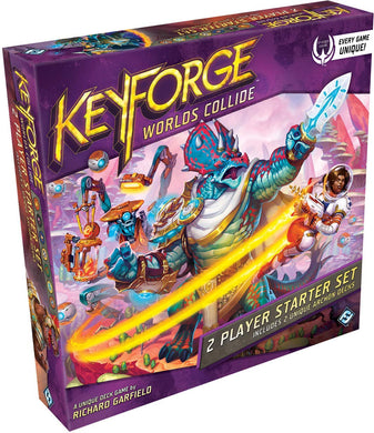 Keyforge: Worlds Collide Unique Deck Game Two-Player Starter