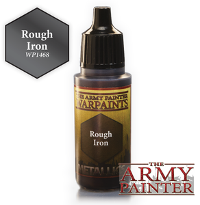 "The Army Painter Metallics Warpaints 18ml Rough Iron ""Metallic Variant"" WP1468"