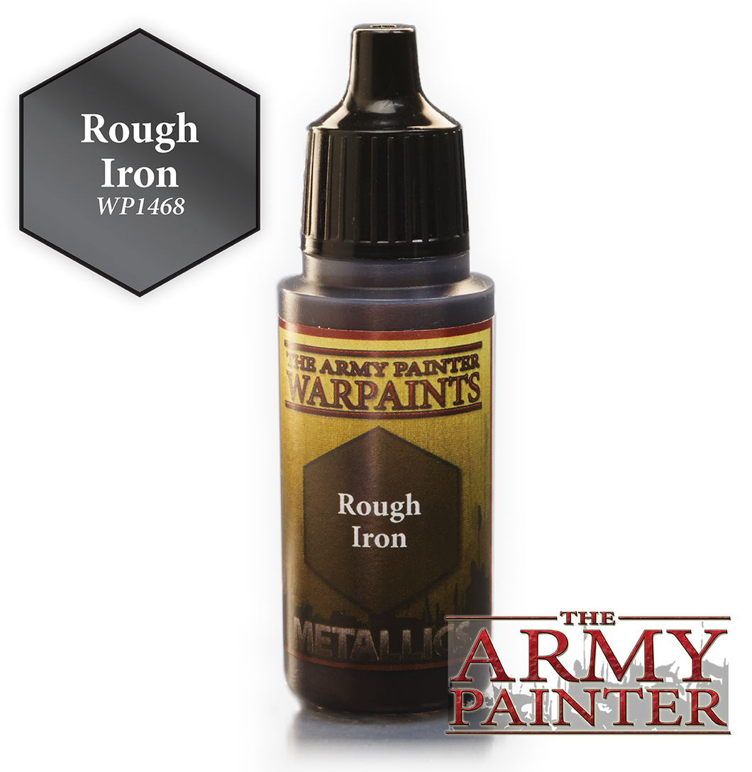The Army Painter Metallics Warpaints 18ml Rough Iron