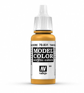 Vallejo Ochre Model Color Paint, 17ml