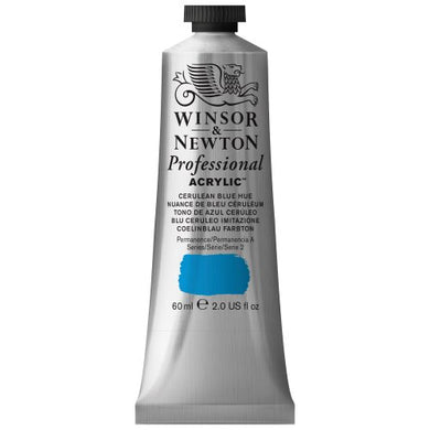 Winsor & Newton Artists Acrylic - Cerulean Blue Hue - 60 ml Tube