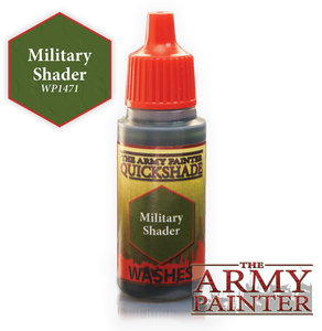"The Army Painter Warpaint Washes 18ml Military Shader ""Green Wash"" WP1471"