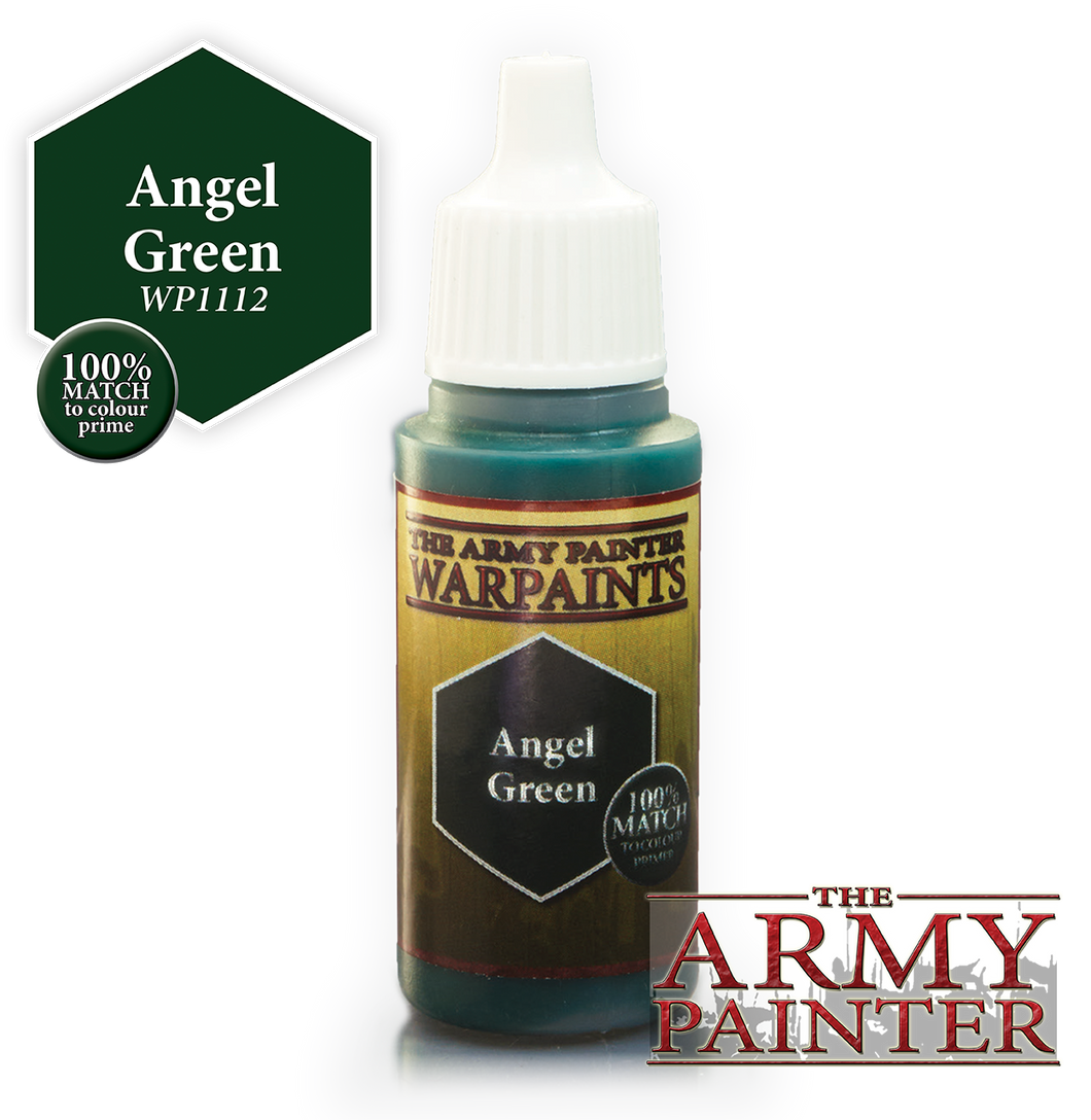 The Army Painter Warpaints 18ml Angel Green