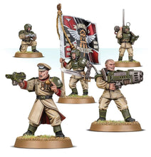 Load image into Gallery viewer, Games Workshop Warhammer 40K: Astra Militarum Cadian Command Squad 47-09